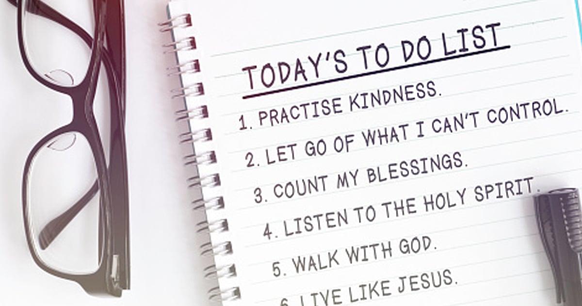 Christian Life Hacks _ schedule _ godupdates