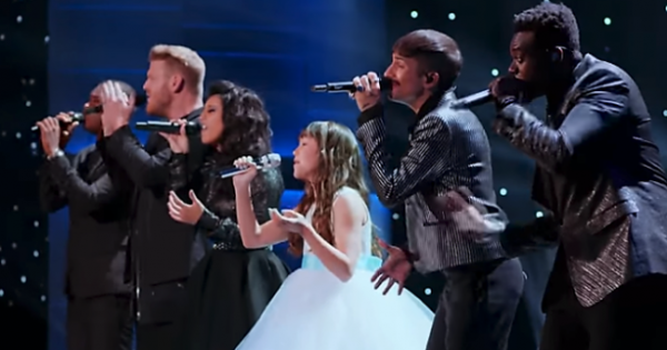 "11-Yr-Old With Autism Sings ""Hallelujah"" With Pentatonix"