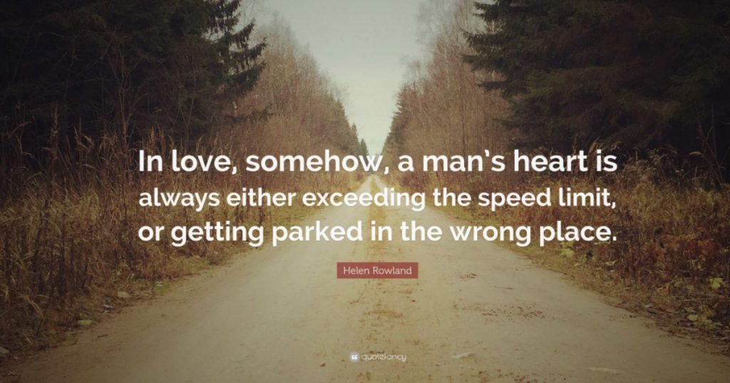 51 funny quotes about love helen rowland