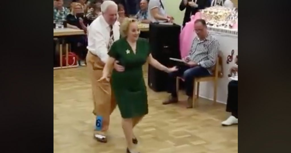 Elderly Couple Swing Dance Goes Viral
