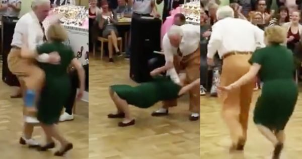 Elderly Couple's Swing Dance Routine Goes Crazy Viral