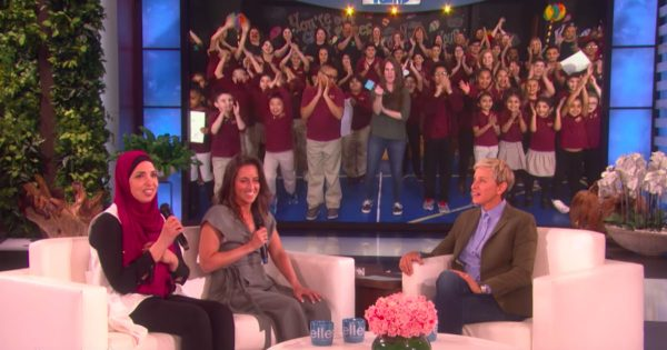 Two Teachers Surprised With A Gift For Their School Live On TV