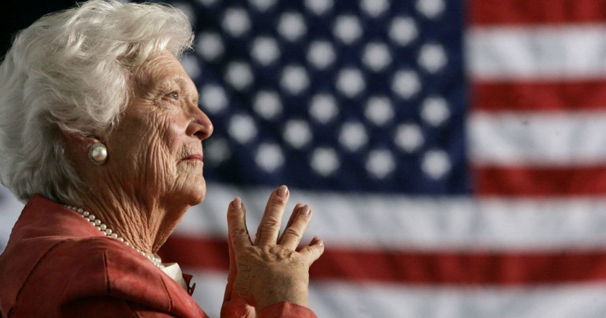 inspiring reactions to barbara bush's death