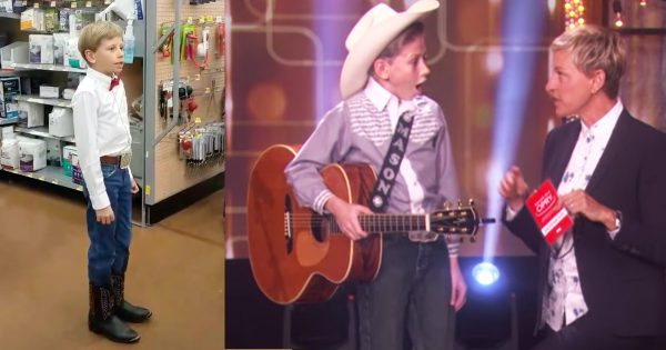 Little Hank Williams Takes Over The Internet After Yodeling In The Middle Of Walmart