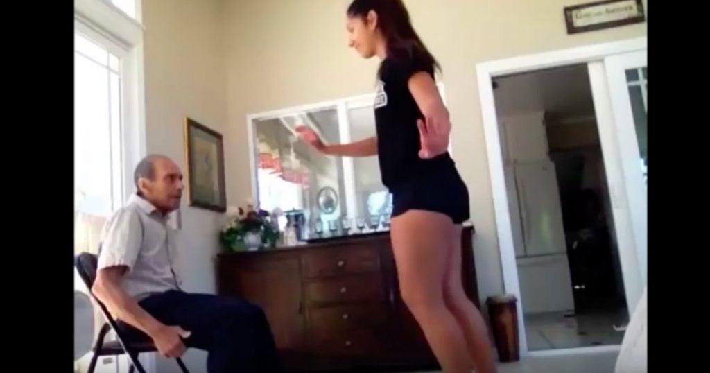 godupdates 93-year-old grandfather dances