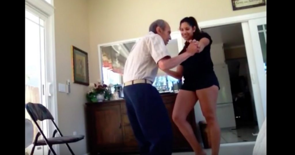 godupdates 93-year-old grandfather dances