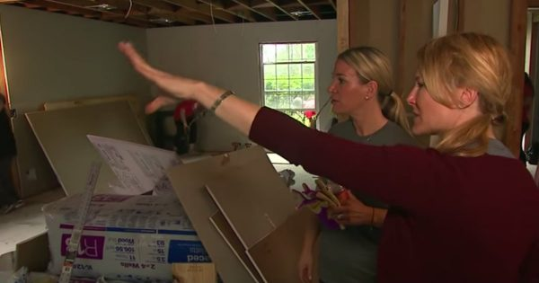 Gold Star Families Help A Hurricane Harvey Victim Rebuild Their Home