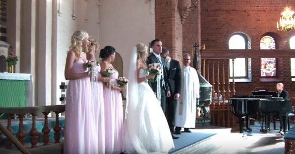 Groom And Bridal Party Surprises Bride With A Lovely Song At Their Wedding