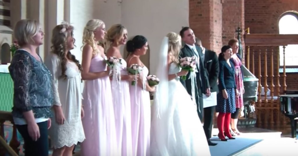 godupdates groom surprises bride