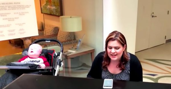 Mom Serenades Her 1-Year-Old Son With A Beautiful Song At His Neurologist Appointment