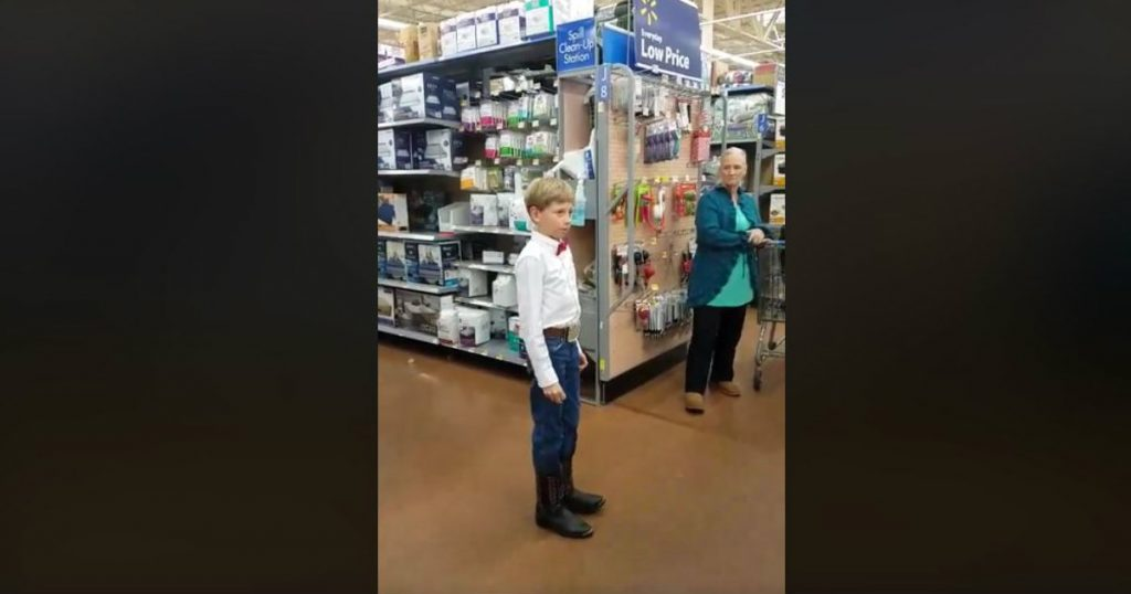 godupdates walmart boy sings