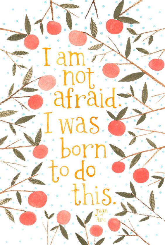 inspirational quotes for women on fearlessness 1