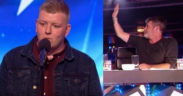 Simon Stops Nervous Opera Singer During Audition