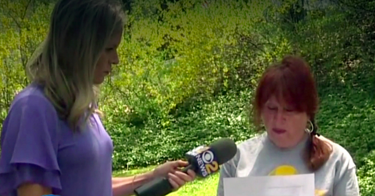 godupdates note shaming grandma for unkempt yard fb