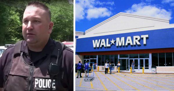 Police Officer Working At Walmart Steps Up When Man Can't Pay For Groceries