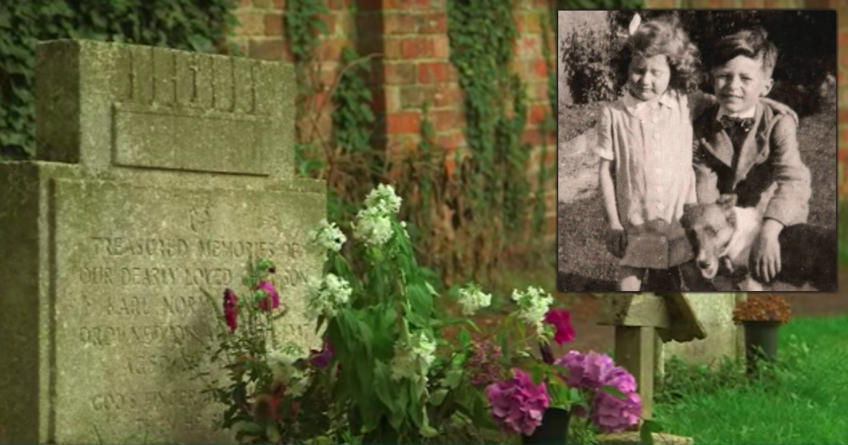 visiting her brother's grave mystery solved fb
