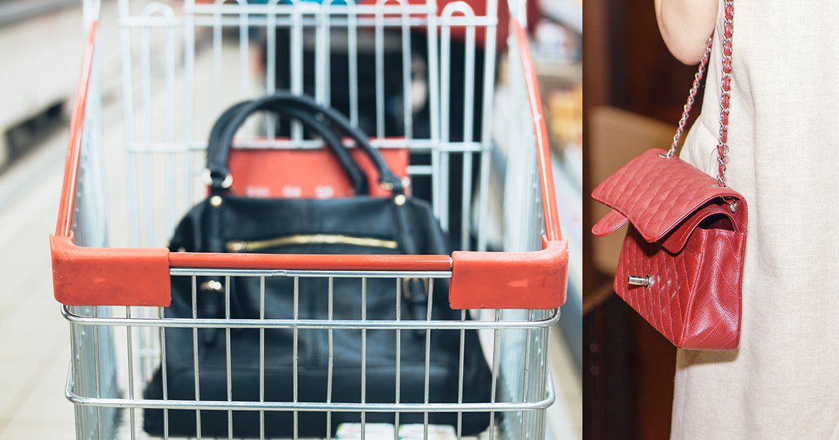 grocery store purse snatchers warning