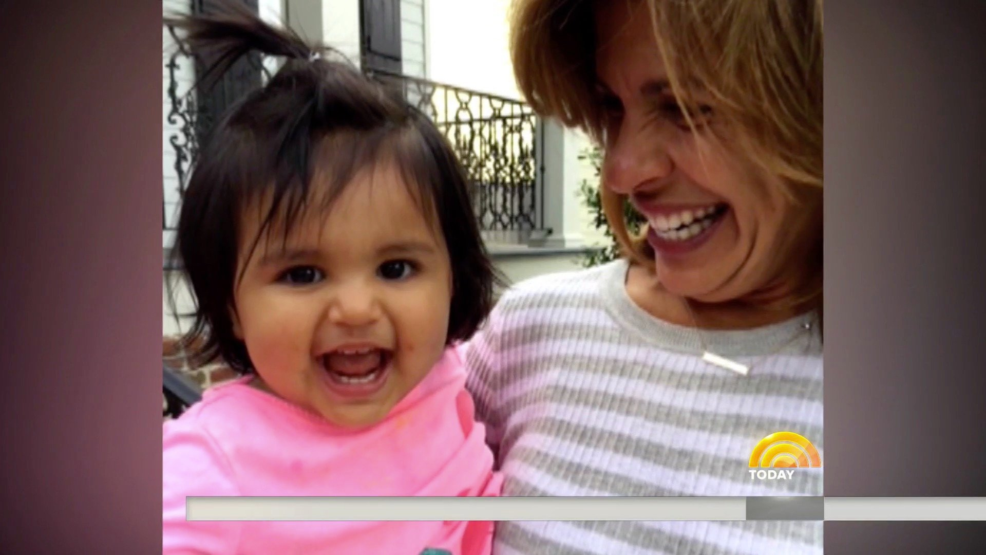 Hoda and Daughter