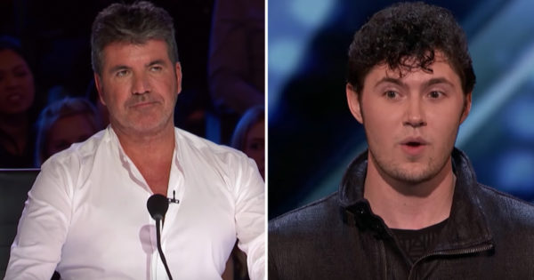 Simon Stops Classical Singer And Gives Him New Challenge No One Saw Coming