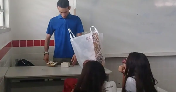 Students Surprise Teacher Receiving No Pay With A Special Gift