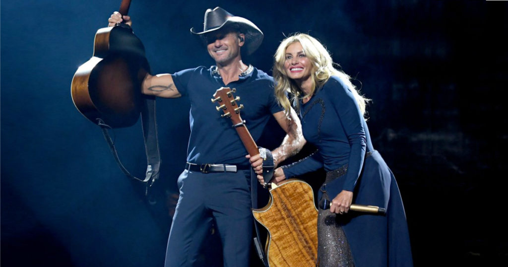 faith hill and tim mcgraw's real-life love story