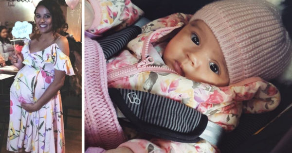 Mom Gives Birth To Baby Girl And 6 Weeks Later She's Allergic To Water
