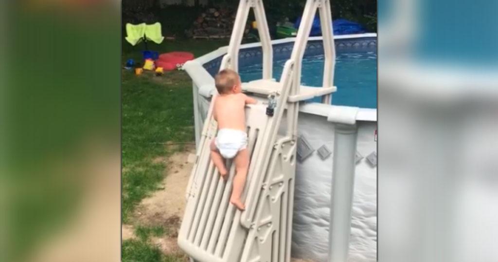 pool ladder warning 3