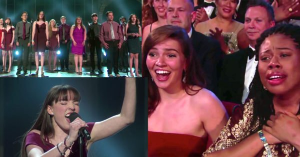 School Shooting Survivors' Surprise Performance at Tony Awards