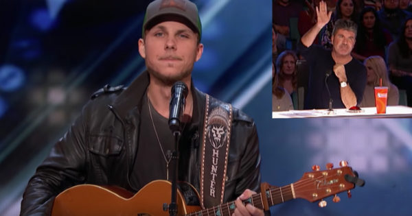 Simon Stops Country Singer Audition And Makes Him Sing Again