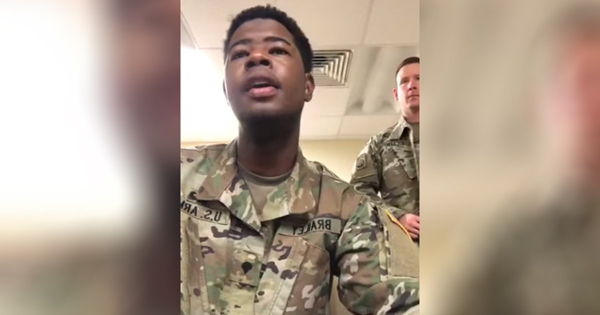 US Soldiers Sing A Cappella Amazing Grace