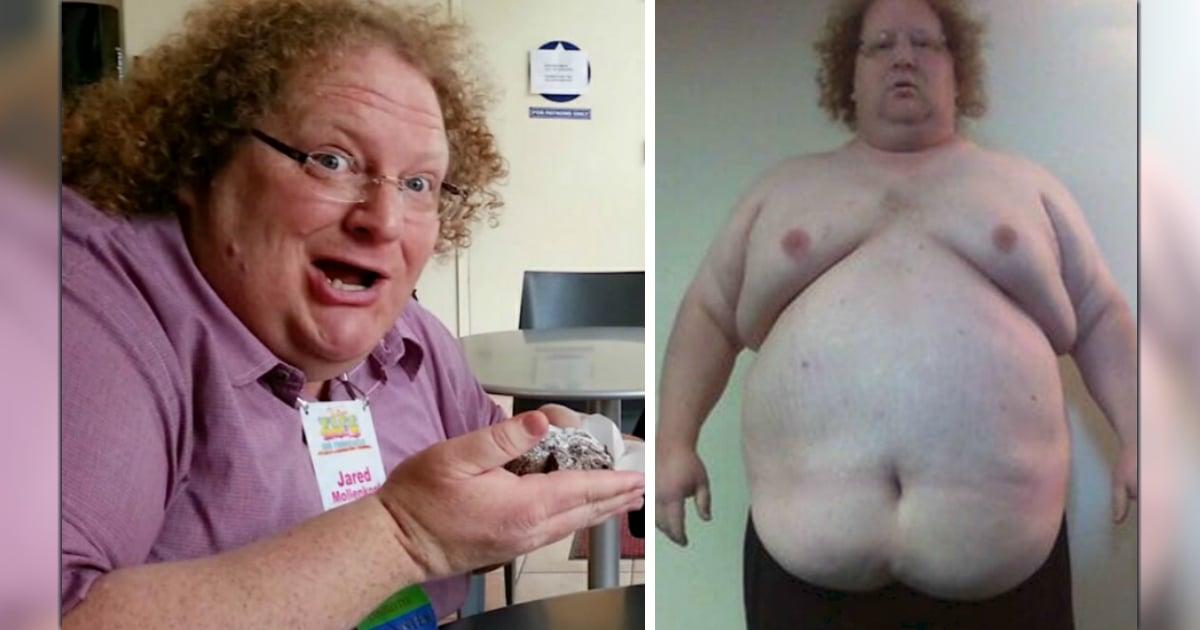 500-pound man shed 300 pounds jared fb