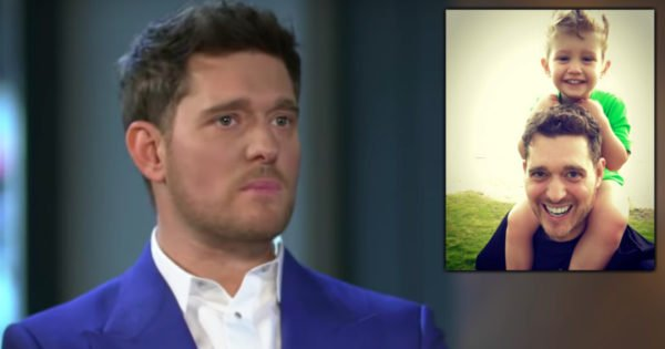 Michael Bublé Opens Up About Son's Cancer Battle