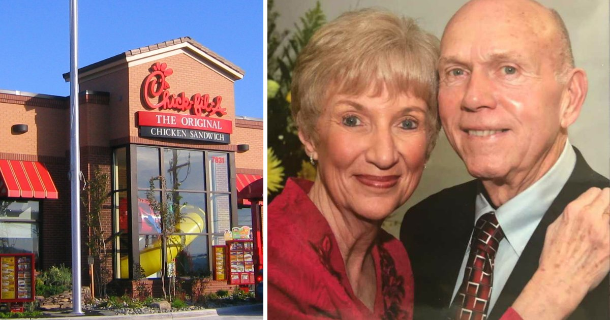 elderly chick-fil-a regulars