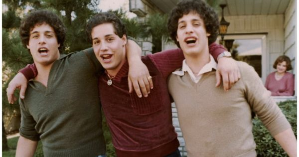 Three Identical Strangers Learn They Are Triplets Separated at Birth