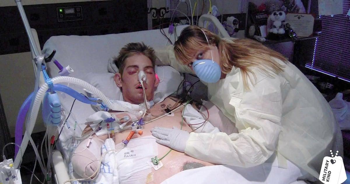 Marine Sgt. John Peck - Double Arm Transplant