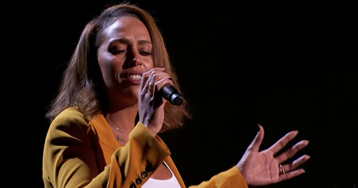 Single Mom auditions for america's got talent - Glennis Grace