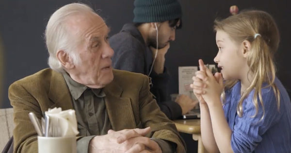 Children Help Lonely Adults Remember How To Make Friends