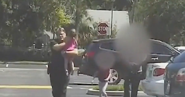 Dashcam Shows Police Officer Saving Girl From Hot Car