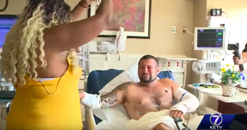 motorcycle crash victim reunites with guardian angel 2