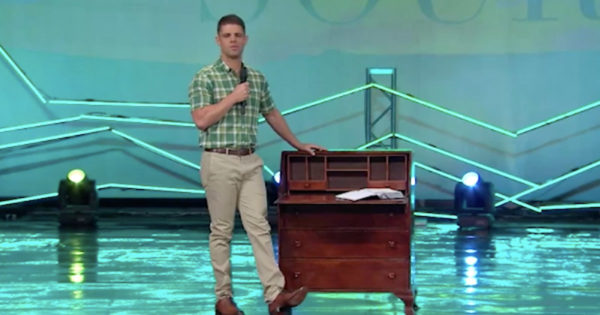 Pastor Steven Furtick Shares Powerful Words He Heard At His Dad's Desk