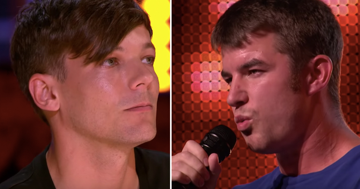 Sober Contestant Anthony Russell Brings Judge To Tears With Comeback Audition