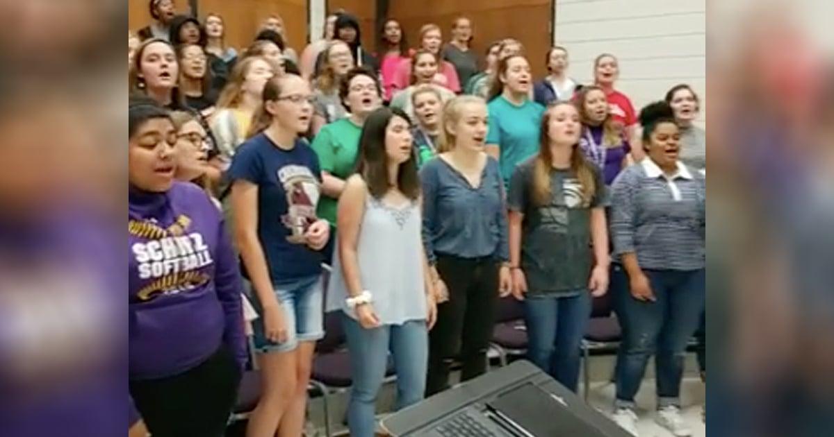 Gospel Choir Viral Performance Of Ride On King Jesus