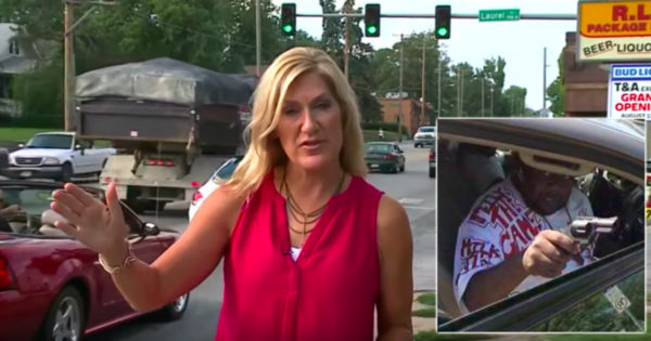 Mom Credits Guardian Angel When Stray Bullet Shatters Her Window At Intersection