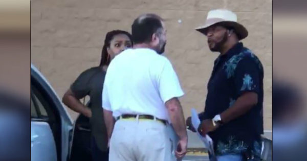 Stranger Steps In As Irate Man Threatens Pregnant Woman In Walmart Parking Lot