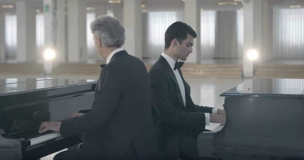 andrea bocelli duet with son matteo bocelli 2