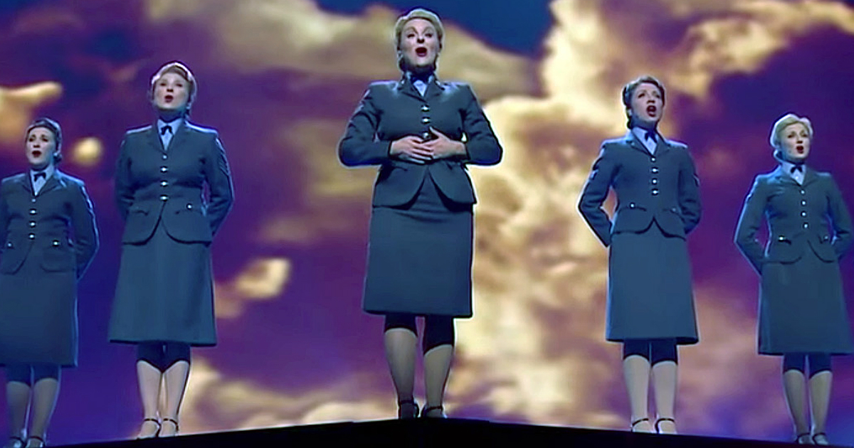 d-day darlings performed with ww2 veterans fb