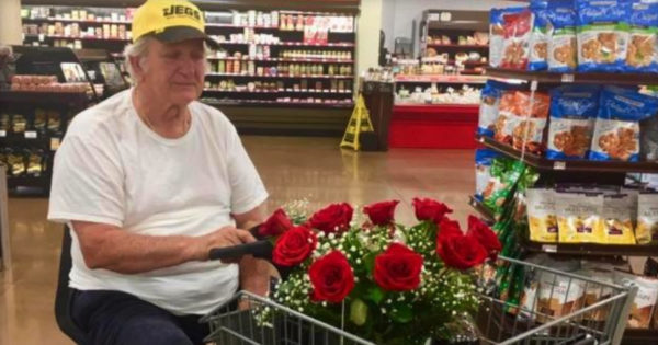 Lonely Widower Shares Heartbreaking Reason He's Buying Flowers And Cake