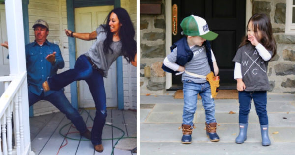 Chip & Jo 2.0: Toddlers Dress Up As Chip And Joanna Gaines For Halloween