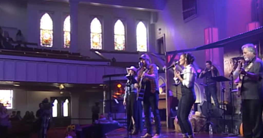 Bluegrass Version of 'Victory in Jesus' is A Toe Tapper