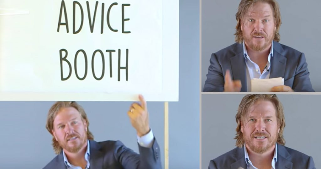 Fixer Upper Star Chip Gaines Offers Life Advice That's Hilariously Spot On